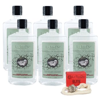 La Tee Da Gardens of Savannah (32 oz.) Value 6 Pack + Wick