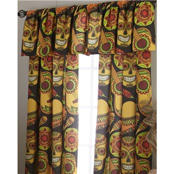 Mexican Fiesta Tailored Valance