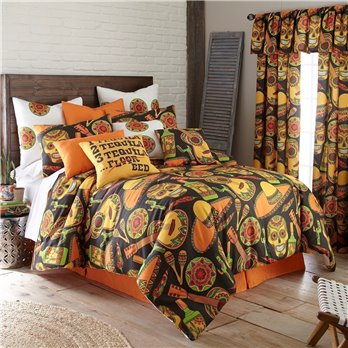 Mexican Fiesta Comforter Set Twin Size