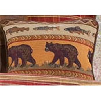 Gatlinburg Bear Accent Pillow