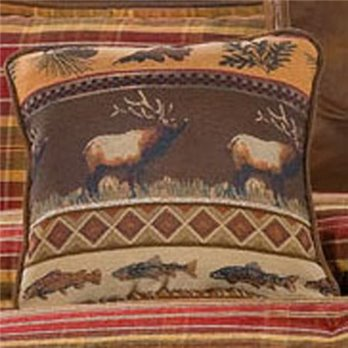 Gatlinburg Elk Accent Pillow
