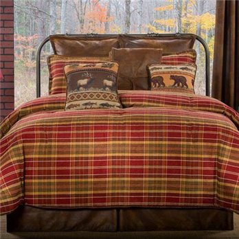 Montana Morning California King size 4 piece Comforter Set