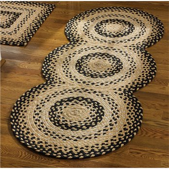 Cornbread Braided Rug Runner 30x72