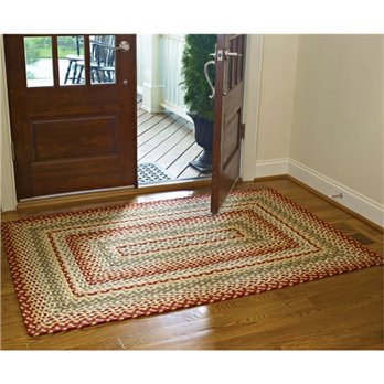 Mill Village Rectangular Braided Rug