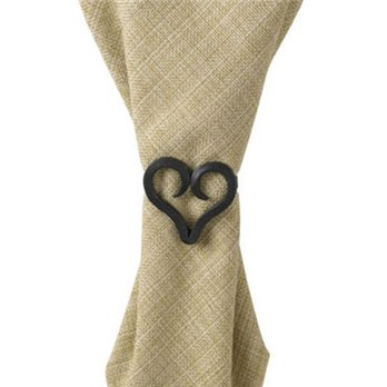 Forged Heart Napkin Ring