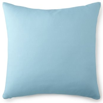 Tropical Bloom Euro Sham - Aqua Blue