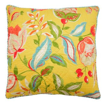 Waverly Modern Poetic Reversible Decorative Pillow.