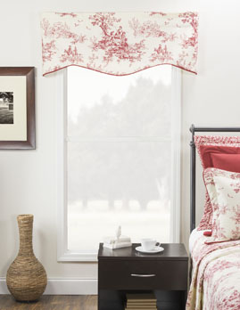 Bouvier Red Toile Print Winston Valance