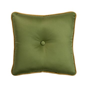 Cayman Square Green Pillow