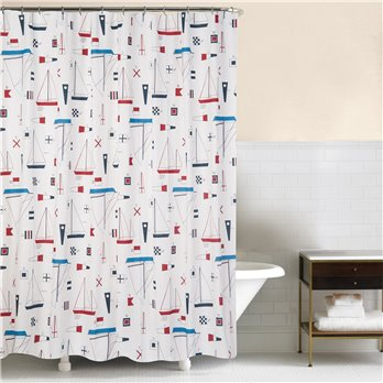 Windward Port Shower Curtain