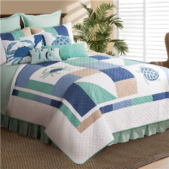 Macleay Island Twin Quilt