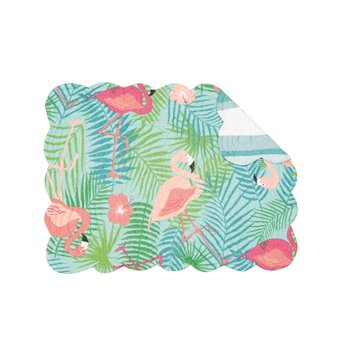 Isla Tropics Rectangular Quilted Placemat