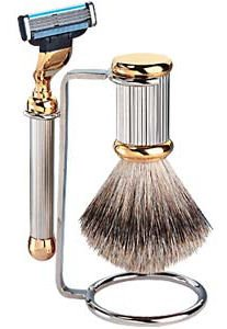 Caswell-Massey Chrome Shave Set