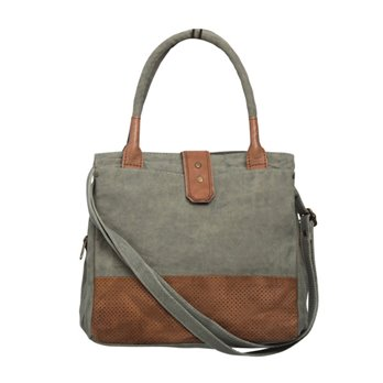 Mona B. Rachella Canvas Shoulder Bag