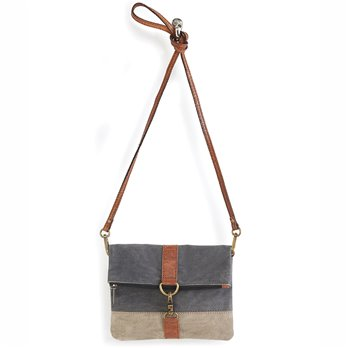 Mona B. Finley Cambridge Fold-over Crossbody Bag