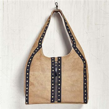 Mona B. Wild Streak Canvas Tote Bag