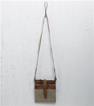 Mona B. Intermix Crossbody Bag