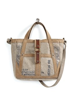 Mona B. Portland Canvas Crossbody Bag