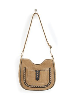 Mona B. Phoebe Canvas Crossbody