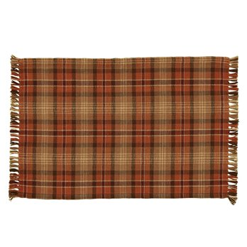 Gather Together Plaid Woven Placemat