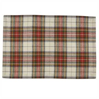Through the Woods Plaid Woven Placemat