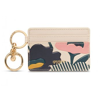 Spartina 449 Tidalholm Floral Key Chain Card Holder