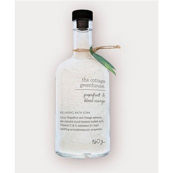 The Cottage Greenhouse Grapefruit & Blood Orange Relaxing Bath Soak