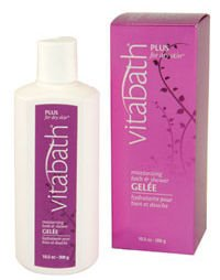 Vitabath Plus for Dry Skin Moisturizing Bath & Shower Gelee (10.5 oz)