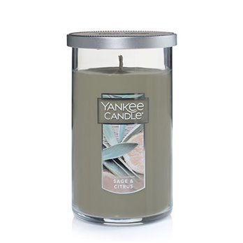 Yankee Candle Sage & Citrus Medium Perfect Pillar Candle