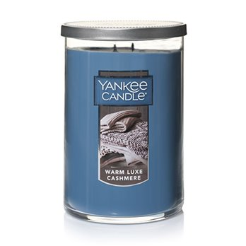 Yankee Candle Warm Luxe Cashmere Large 2 Wick Tumbler Candle