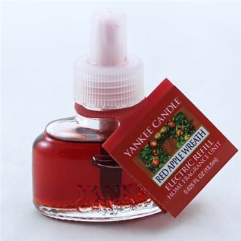 Yankee Candle Red Apple Wreath Electric Home Fragrancer Refill (Single)