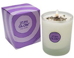 Zum Glow Lavender Soy Candle in Glass (7 oz.)