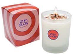 Zum Glow Sandalwood Citrus Soy Candle in Glass (7 oz.)