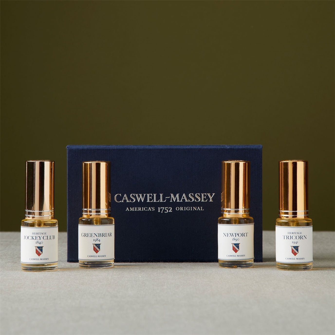 Caswell-Massey Heritage Cologne Sampler
