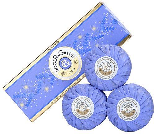 Roger & Gallet Lavender Royale Perfumed Soaps Box of 3 (3 x 3.5 oz.)