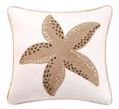 St. Lucia Starfish Rice Stitch Pillow