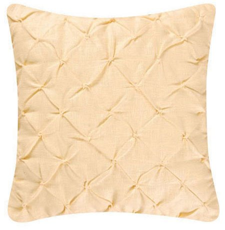 Yellow Feather Down Pillow