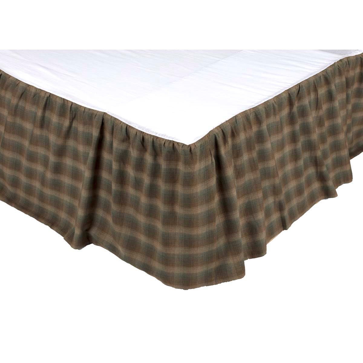 Seneca Queen Bed Skirt 60x80x16