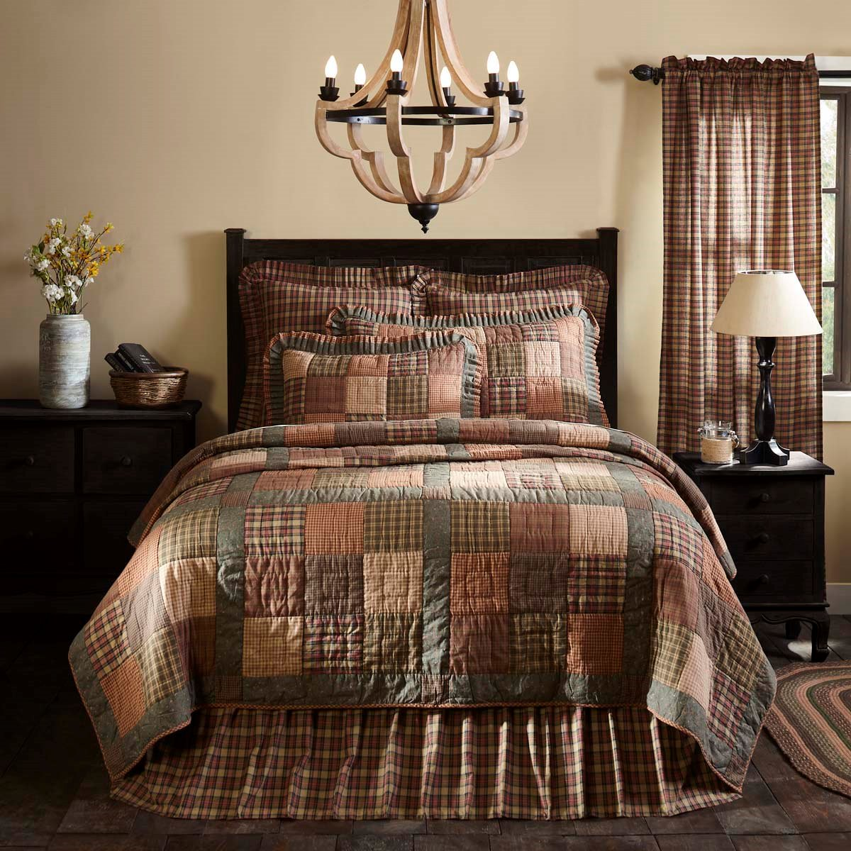 Crosswoods Luxury King Quilt 105x120