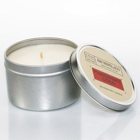 Archipelago Pomegranate Citrus Tin Candle