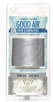 Yankee Candle Just Plain Clean Good Air Odor Eliminating Electric Home Fragrancer Unit