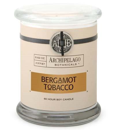 Archipelago Bergamot Tobacco Jar Candle
