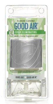 Yankee Candle Just Plain Fresh Good Air Odor Eliminating Electric Home Fragrancer Unit