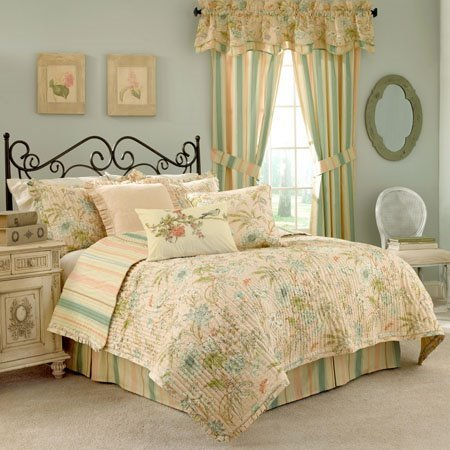 Waverly Cape Coral King Quilt Set