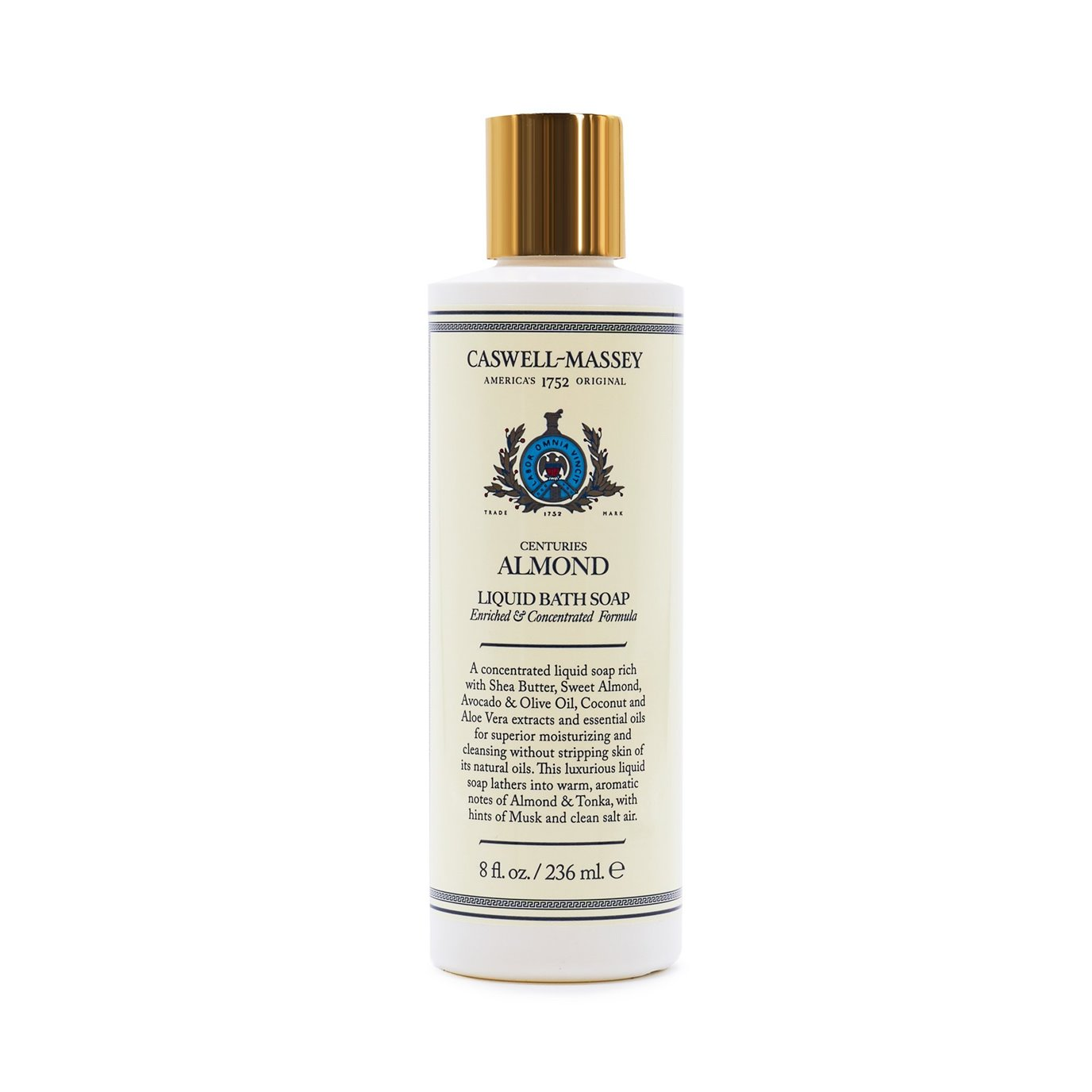 Caswell-Massey Almond Liquid Bath Soap