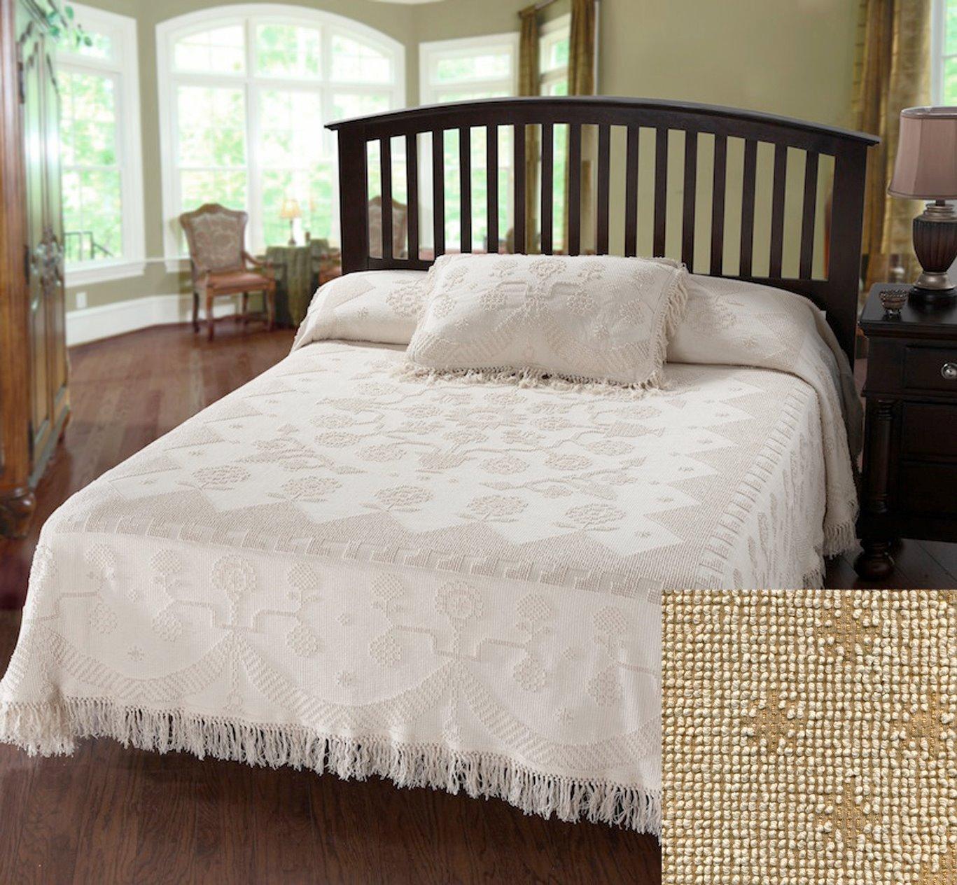 George Washington Bedspread Queen Linen