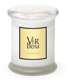 Archipelago Verbena Frosted Jar Candle