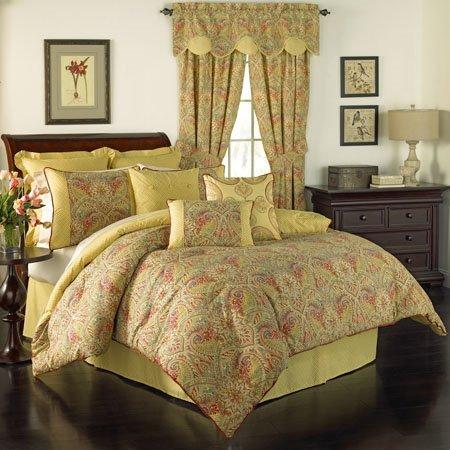 Waverly Swept Away Berry Queen 4 Piece Comforter Set