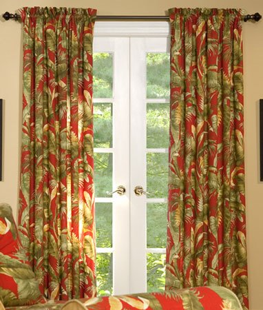 Captiva Rod Pocket Curtains