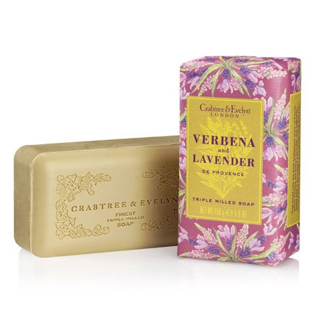 Crabtree & Evelyn Verbena and Lavender de Provence Soap (one bar, 5.6 oz., 158g)